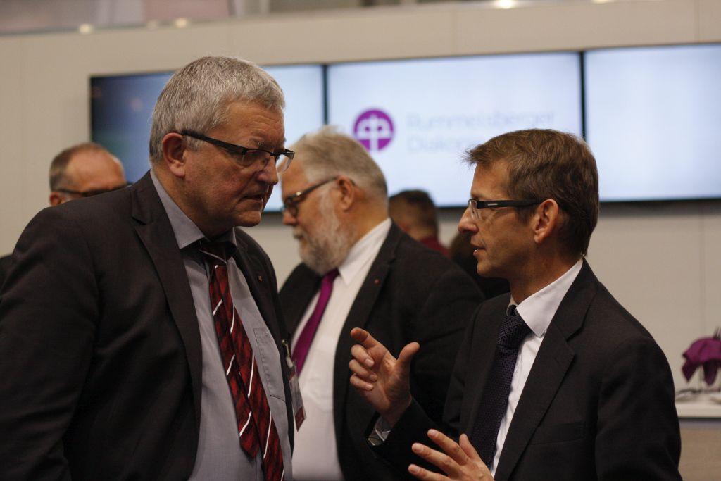 Dr. Günter Breitenbach im Gespräch