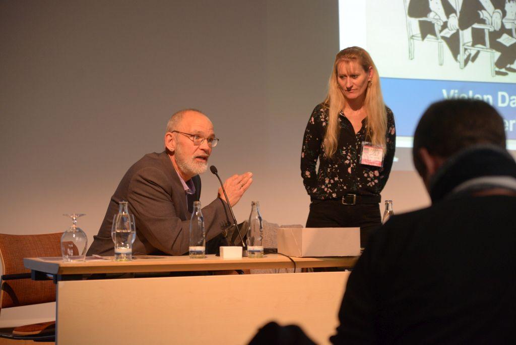 Uwe Niederlich und Susanne Heckel berichten über Wohnqualität für Menschen mit Behinderung
