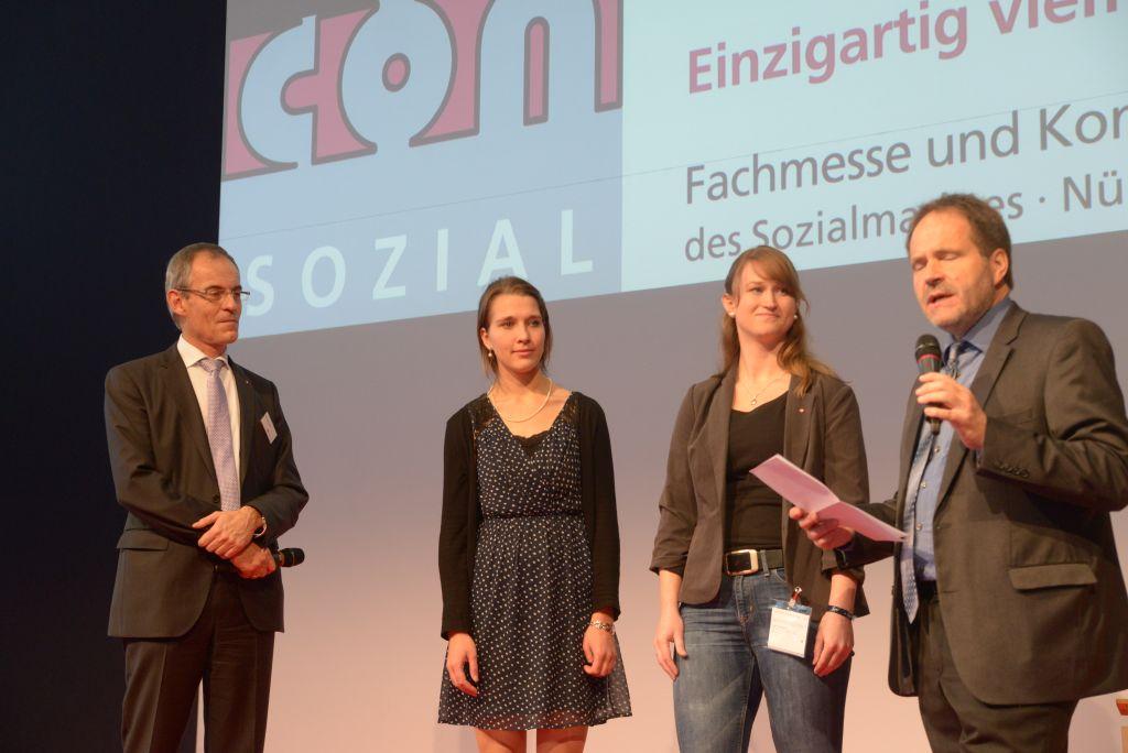 Preise für Kertin Gräf und Josephine Merkel